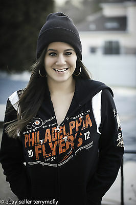 Philadelphia Flyers 2012 Women's NHL Winter Classic Classic Hooded Zip Sweat NHL