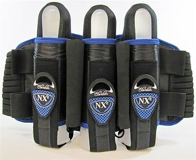 NXE 2013 Elevation Pro Edition 3+2+2 Pack/Harness - Paintball - Blue