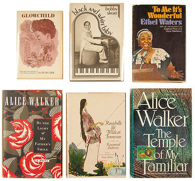 SIX African-American Authors Signed Books