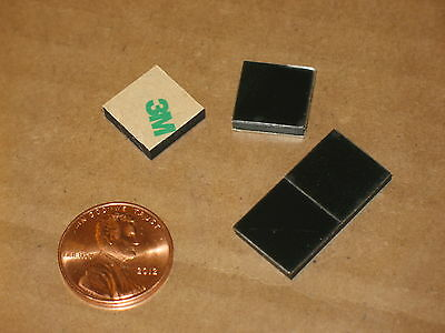 "4, 1/2"" (12Mm) Square 1/10In (2.5Mm) Thick Vibration Iso Pad Feet 70D Sorbothane"