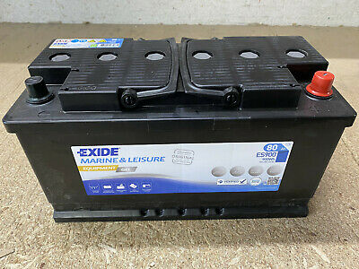 Exide GEL Batterie ES900 12V/ 80Ah (EQUIPMENT GEL)  350 * 175 * 190 mm