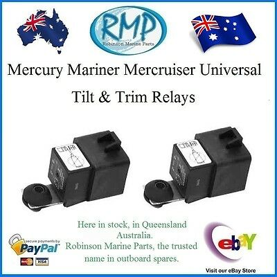 A Brand New Set x 2 Mercury Mariner Mercruiser Tilt &Trim Relays # 828151