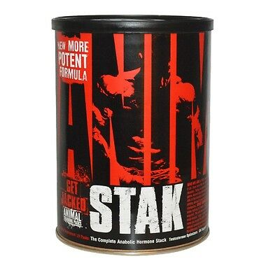 Universal ANIMAL STAK v2 Boost Testosterone Build Muscle 21 Packs