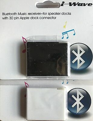 Bluetooth Stereo Audio Receiver Music iPod Dock iPad Macbook Pro Bose Sound Dock
