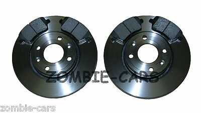 FOR NISSAN NOTE 1.5 DCI E11 1.4,1.6 FRONT BRAKE DISCS /& PADS SET 260MM