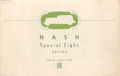 1932 Nash Series 1080 Special 8 Twin Ignition Brochure wp2452-YH7NKL