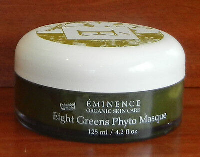 EMINENCE EIGHT GREENS PHYTO MASQUE 4.2 oz / 125 ml New & Fresh = NOT HOT