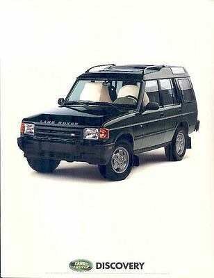 1994 1995 Land Rover Discovery Brochure wp4295-WF13TR