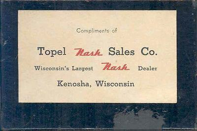 1939 Nash Factory Deck of Playing Cards wp50-E71W6Y