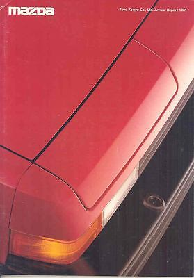 1981 Mazda Factory Annual Report RX7 History wp7946-PG23WE