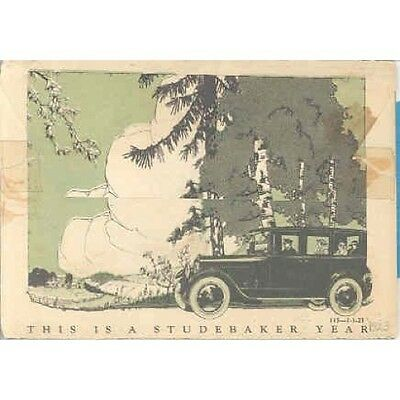1923 Studebaker Light 6 Special 6 Big 6 Mailer Brochure wp865-6GFJMC