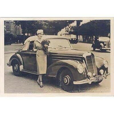 1952 Mercedes Benz 220 Cabriolet  Factory Photo wp9006-YYKVUJ