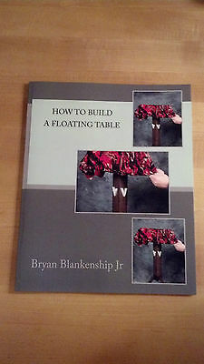 HOW TO BUILD A FLOATING TABLE Magic Trick - Book