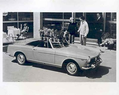 1965 Fiat 1500 Convertible Spider ORIGINAL Factory Photo Release wo1229-SNSEV4
