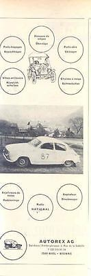 1966 Saab Rallye Car Ad Switzerland  wo3444-OZUCW5
