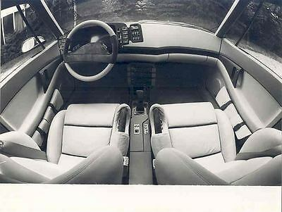 1981 Opel Tech I Interior Concept ORIGINAL Factory Photo wo4783-B12655