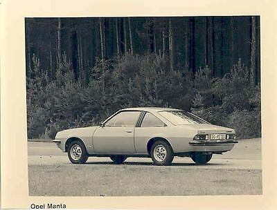 1975 Opel Manta Coupe ORIGINAL Factory Photo wo6607-7NAABX