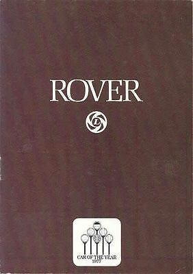 1977 Rover 3500 Brochure German wo8660-ARD6F6