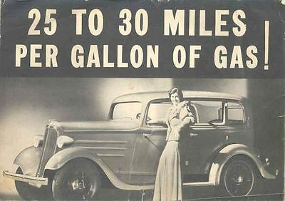 1934 Continental Brochure Poster wo9560-5T3GZK