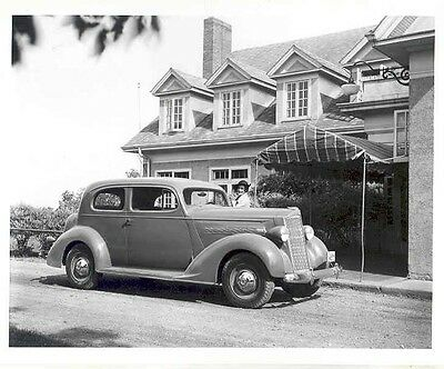 1937 Packard 115 Six Two Door  Factory Photo we7894-55BUZG