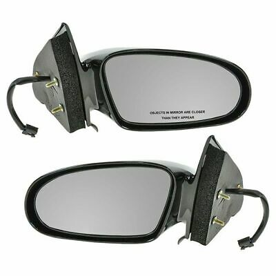 96-02 Saturn S-Series Sedan Wagon Manual Rear View Mirror Right Passenger Side