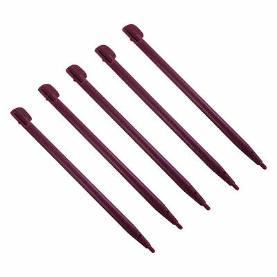 Stylus for Nintendo DSi XL slot in replacement pen 5 pack red wine | ZedLabz