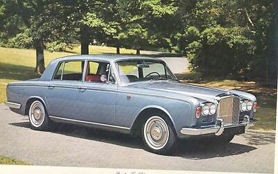 1966 1967 Bentley T Saloon Sales Brochure wb8704-TXMZEB