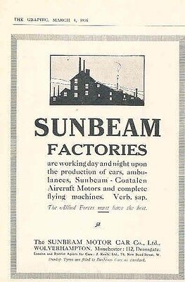 1916 Sunbeam Magazine Advertisement wx8178-WDUA1X