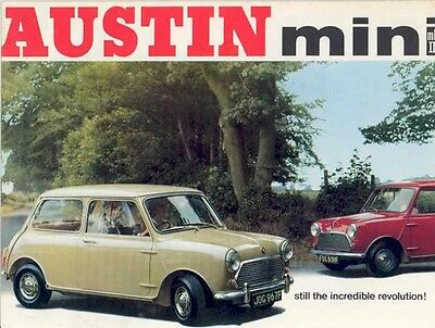 1968 Austin Mini Mark II Sales Brochure wx8379-MJHQTI
