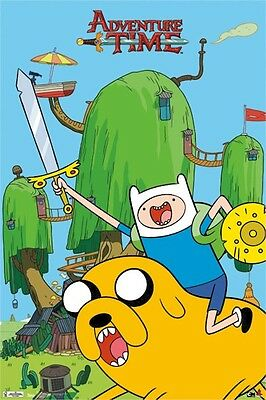 ADVENTURE TIME JAKE THE DOG 16X20 POSTER