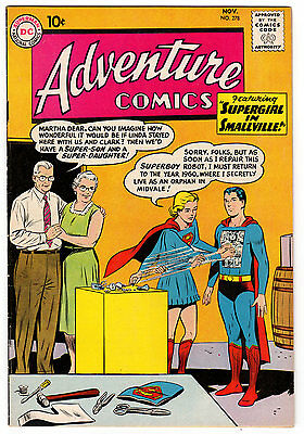 Adventure Comics #278 6.5 Off-White To White Pages Silver Age Superboy