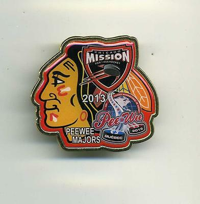 Minor hockey pin pee wee 2013 CHICAGO MISSION