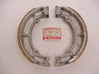 Rear Brake Shoes Nos Kawasaki Kz650 454 Ltd 800 Vulcan