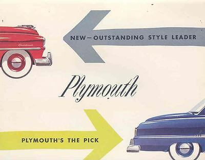 1953 Plymouth Brochure Canada wn6173-4XDN1S