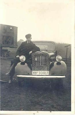 1938 1939 1940 ? Opel 6 Sedan in Germany ORIGINAL Photo  wn7-AOYPIH