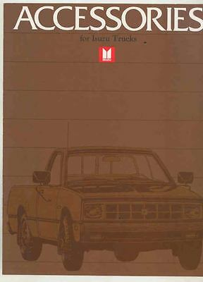 1983 Isuzu P'UP Pickup Truck Accessories Brochure ws3637-AY6ZHG