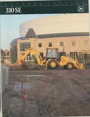 1996 John Deere 310SE Backhoe LoaderConstruction Brochure ws4254-F4TRMT