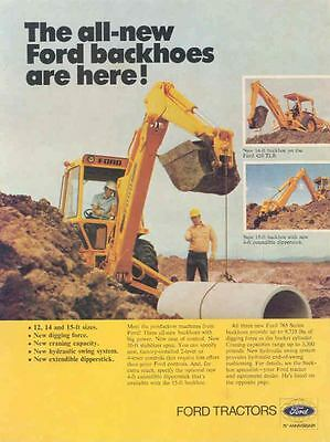1978 Ford 765 Backhoe Ad wl2744-I3EP6M