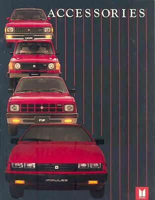 1983 1984 ? Isuzu Accessories Brochure Impulse PUP wl7482-UCWETE