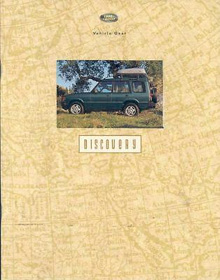 1994 Land Rover Discovery Accessories Brochure wk6621-FHJ4VK