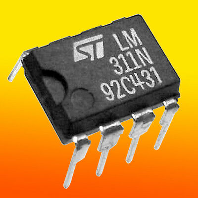 (6) LM311 Voltage Comparator by ST