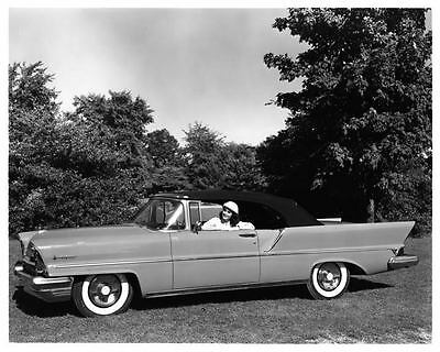 1957 Lincoln Premiere Convertible Factory Photo ad1555-4N4OLO
