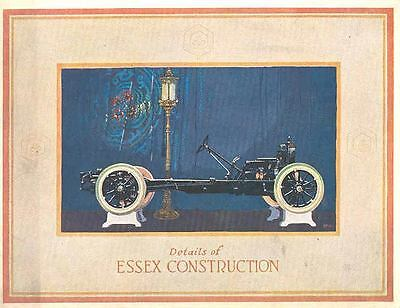 1924 Essex Chassis Construction Details Brochure wj1534-PGCIY1