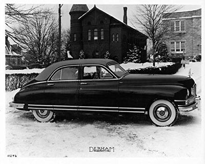 1948 Packard Derham Custom Eight Limousine Factory Photo Picture Ref. #61985