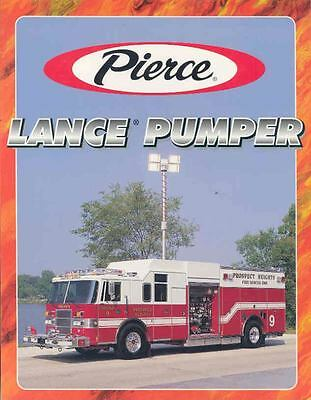 1997 Pierce Fire Truck Brochure King George Centreville wj6489-JLIAEF