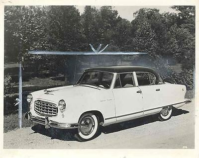 1955 Nash Rambler Original Factory Photo wi1221-196VUB