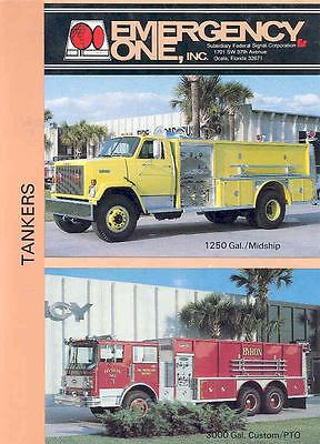 1972 Emergency One GMC Brigadier Tanker Pumper Fire  wi1927-SQJUTS