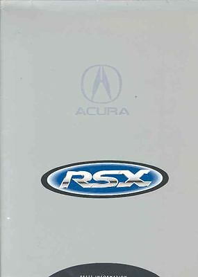 2002 Acura RSX Press Kit CD-ROM wi5412-8IP5RS