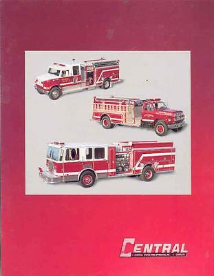 1992 Central Ford Chevrolet Fire Truck Brochure wi8327-GPTK67