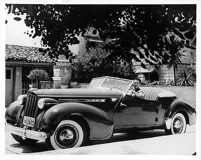 1939 Packard Super Eight Darrin Victoria Factory Photo ad2209-648SKW